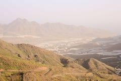 Europejska naturalna wieś w Agaete Gran Canaria Zdjęcia Stock