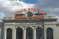 europejska stacji Zdjęcia Stock