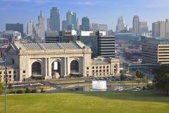 europejska stacji Kansas city zdjęcie royalty free