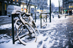europejska zima obrazy royalty free