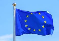 Europejska zrzeszeniowa flaga Obraz Royalty Free
