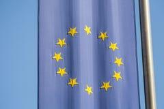 Europejska Zrzeszeniowa flaga. obraz stock