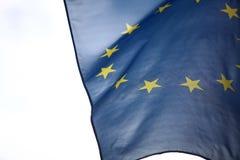 Europejska zrzeszeniowa flaga Obrazy Stock