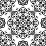 Europejski średniowieczny ornament royalty ilustracja
