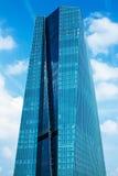 Europejski Bank Centralny Główny Eurotower w Frankfurt magistrala, Niemcy - Am - zdjęcie royalty free