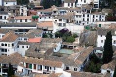 Europejski budynki mieszkalne zdjęcia stock