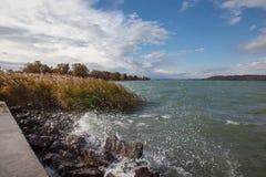 Europejski jezioro Obrazy Stock