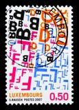Europejski kapitał kultura - Transborderism, seria, około 2007 Obraz Stock