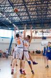 Europejski młodości koszykówki liga Fotografia Royalty Free