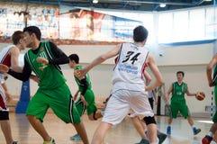 Europejski młodości koszykówki liga Zdjęcie Royalty Free