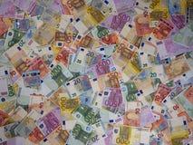 Europejski pieniądze tło, 4:3 format, 2016 rachunków Zdjęcie Stock