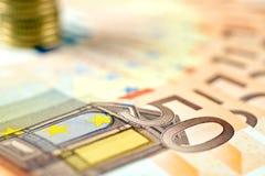 Europejski pieniądze Obraz Royalty Free