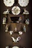 Europejski porcelany Seattle muzeum sztuki wnętrze Obrazy Royalty Free