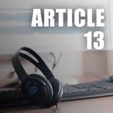 Europejski prawa autorskiego zarządzenie wliczając artykułu 13 zatwierdza parlamentem europejskim fotografia royalty free