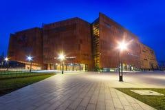 Europejski solidarności muzeum w Gdańskim Zdjęcie Royalty Free