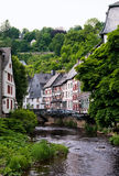 europejski stary miasteczko Zdjęcie Royalty Free