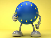 Europejski sukces Zdjęcie Royalty Free