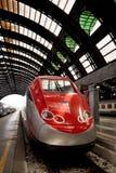 europejski szybki pociąg zdjęcie royalty free