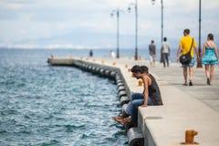 Europejski uchodźcy kryzys - Kos wyspy, Grecja Europejski uchodźcy kryzys Fotografia Royalty Free