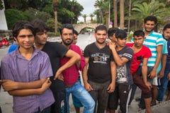 Europejski uchodźcy kryzys - Kos wyspa, Grecja Zdjęcie Royalty Free