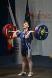 Europejski Weightlifting mistrzostwo, Bucharest, Rumunia, 2009 Obrazy Stock