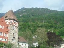 Europejski wsi Alps widok zdjęcie royalty free