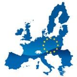 europejski zjednoczenie Obrazy Royalty Free