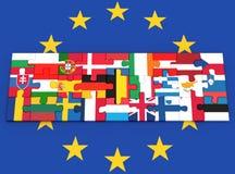 europejski zjednoczenie Obraz Royalty Free