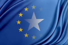 Europejski zjednoczenie i Somalia Pojęcie związek między UE i Somalia Zdjęcia Stock
