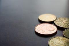 europejskie pieniądze Obrazy Stock