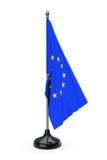 Europejskiego zjednoczenia flaga royalty ilustracja