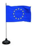 Europejskiego zjednoczenia flaga ilustracja wektor