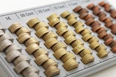 Europejskiego zjednoczenia monety Fotografia Stock