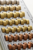 Europejskiego zjednoczenia monety Obrazy Royalty Free