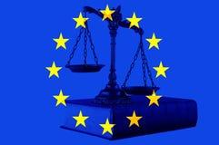 Europejskiego zjednoczenia prawo Obrazy Royalty Free