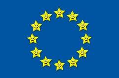 Europejskiego zjednoczenia wyzdrowienie Zdjęcia Royalty Free