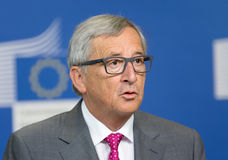 Europejskiej prowizi prezydent Jean-Claude Juncker Zdjęcie Royalty Free