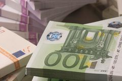 europejskiej waluty Zdjęcie Stock