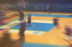 Europen basketball motion blur background,vintage effect Royalty Free Stock Photo