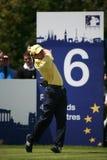 Européen européen d'excursion de Sergio Garcia PGA ouvert Image libre de droits
