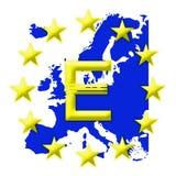 Europeo del sindacato Fotografie Stock Libere da Diritti