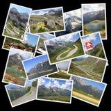 Europese Alpen royalty-vrije illustratie