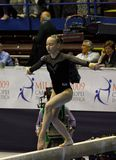 Europese Artistieke Gymnastiek- Kampioenschappen 2009 Royalty-vrije Stock Afbeelding