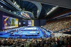 2013 Europese Artistieke Gymnastiekkampioenschappen Royalty-vrije Stock Afbeeldingen