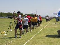 Europese boogschietenkampioenschappen, 2014 stock fotografie
