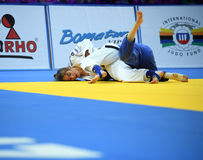 Europese Judokampioenschappen Warshau 2017, Stock Fotografie