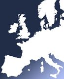 Europese markten vector illustratie