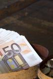 Europese Munt Royalty-vrije Stock Foto