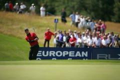 Europese Open PGA bij de As Kent van de Golfclub van Londen stock afbeeldingen