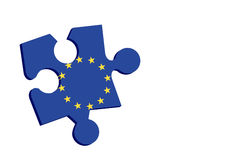 Europese oplossing royalty-vrije illustratie